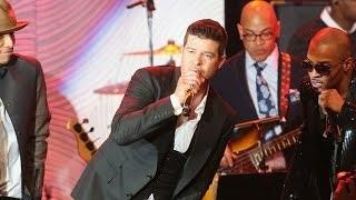 Robin Thicke Reacts to Dad's Bedroom Confession