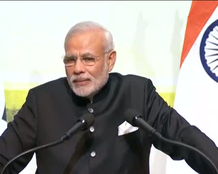 PM speech at Indian Community reception, S Korea