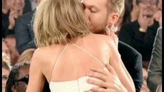 Taylor Swift Kisses Calvin Harris At 2015 Billboard Music Awards