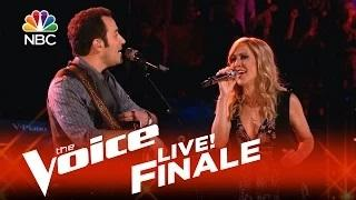 The Voice 2015 Joshua Davis and Sheryl Crow - Live Finale: 'Give It to Me'