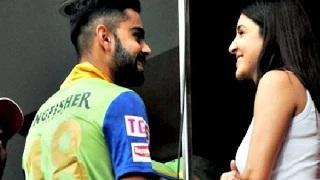 Virat Kohli Meeting Anushka Sharma Sparks Controversy During IPL 2015 Match
