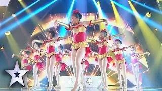 Super Cute Tappers Dance Thrilogy Delight Judges - Asia's Got Talent Grand Final 1