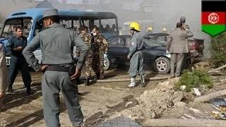 Suicide bomber car bomb blast: five dead in car bombing at Afghan government building