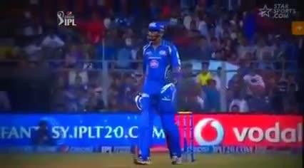 Kieron Pollard vs Virat Kohli BIG Fighting IPL