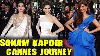 Cannes 2015: Sonam Kapoor's 5 Years At Cannes