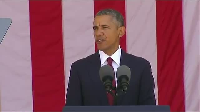Obama Pays Tribute to Fallen Service Members