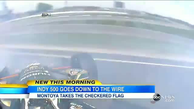 2015 Indy 500 Winner: Juan Pablo Montoya Wins Indianapolis 500