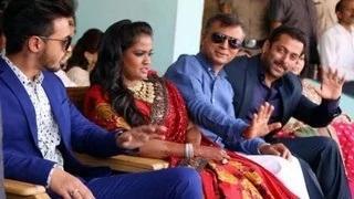 Salman Khan ATTENDS sister Arpita Khan's RECEPTION in Mandi, Himachal Pradesh