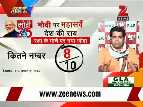 Mega Survey on Modi Govt.