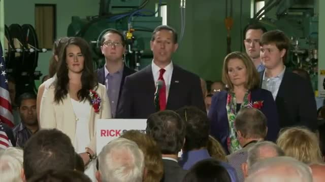 Santorum Launches Second White House Bid
