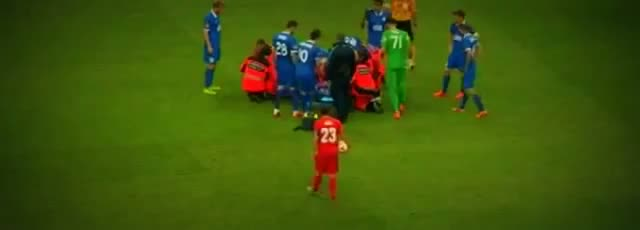 Matheus Injury - Dnipro vs Sevilla 2-3 Europa League Final 2015 HD