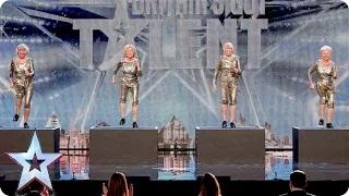 Could dance act The Cocooners tap into the Judges' favour? | Britain's Got Talent 2015