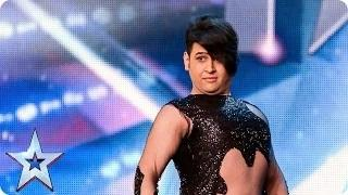 Belly dancer Arman's hips don't lie! | Britain's Got Talent 2015