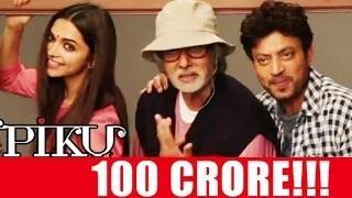 Deepika, Big B, Irrfan's 'Piku' crosses Rs 100 crore mark worldwide