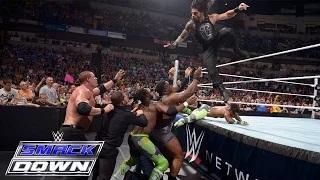 Dean Ambrose & Roman Reigns vs. Kane & Seth Rollins: WWE SmackDown, May 28, 2015