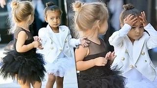 North West & Penelope Disick's CUTEST Fight Ever | Kim Kardashian, Kourtney Kardashian
