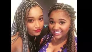 Jaden Smith Wears Dress to Prom With Hunger Games Actress Amandla Stenberg Video
