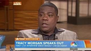 A tearful Tracy Morgan opens up in his first post-accident interview