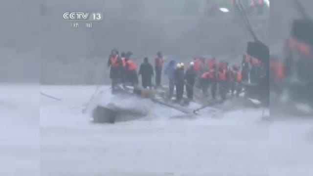 Hundreds Missing in China Ship Accident