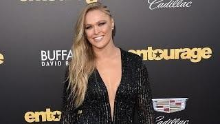 RONDA ROUSEY Trash Talks Shaquille O'Neal