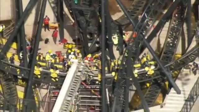 Alton Towers rollercaster crash - Trapped on the Smiler