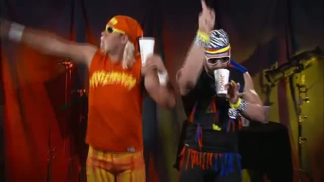 WWE Superstars audition to become the new spokesperson for Sonic's famous Sonic Shakes: Raw, June 1