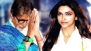 Amitabh Bachchan TAUNTS Deepika Padukone