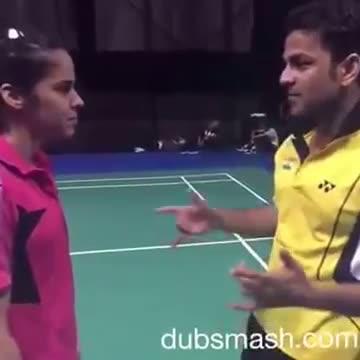 Saina Nehwal Dubsmash Video