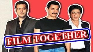Salman, Amir and SRK trio will be seen in Sajid Nadiadwala's Next