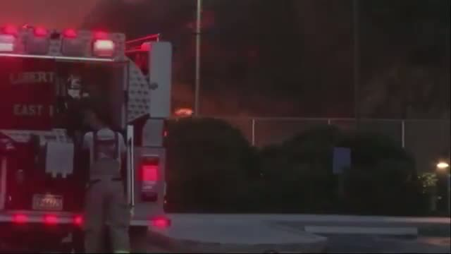 Fire Crews Battle Pa. Chemical Plant Fire