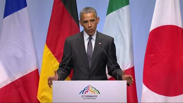 Obama: US, Allies Stand 'Shoulder to Shoulder'