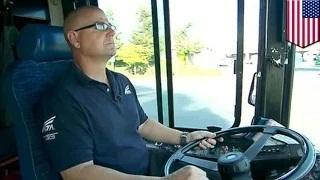 Child kidnapping stopped: Hero bus driver saves three-year-old from abductor