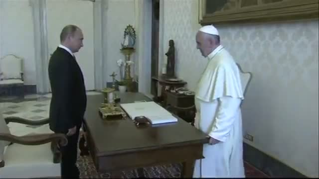 Putin Meets with Pope Francis