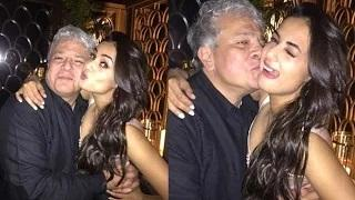 Sonal Chauhan Hot Cozy Pictures With Suhel Seth Leaked