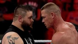U.S. Champion John Cena battles NXT Champion Kevin Owens in a rematch at Money in the Bank!