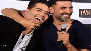 Akshay Kumar makes FUN of Karan Johar at Brothers TRAILER LAUNCH