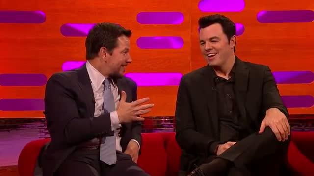 Mark Wahlberg and Seth MacFarlane sing Thunder Buddies - The Graham Norton Show: Episode 10
