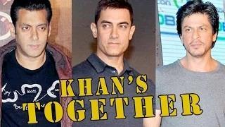 Shah Rukh Khan, Salman Khan and Aamir Khan to share screen space?