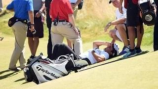 Jason Day Collapses at U.S. Open