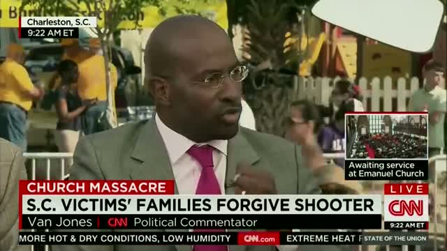 Van Jones at First Emanuel Church Service After Charleston Shooting