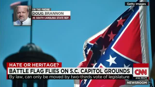 Representative apologies for Confederate flag