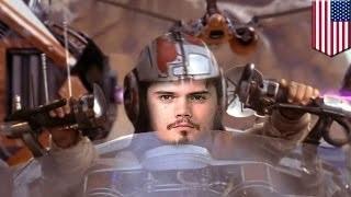 The Speeding Menace, starring Yoda, Jake Lloyd and Jar Jar Binks