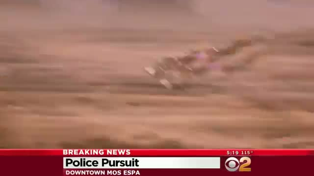 Jake Lloyd (Anakin Skywalker) Police Chase Live News Coverage