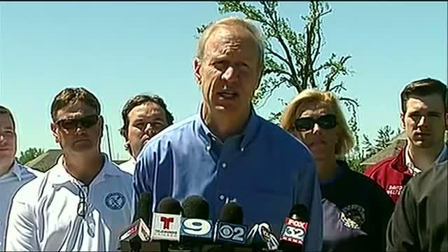 Ill. Gov.: Path of Tornado Impact 'Devastating'