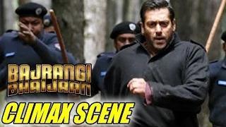 Bajrangi Bhaijaan CLIMAX SCENE   Salman-Kareena Shot 10000 ft Above Sea Level