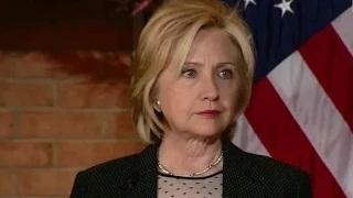 CONFEDERATE FLAG BAN - Hillary Clinton says Confederate Flag has No Place in United States