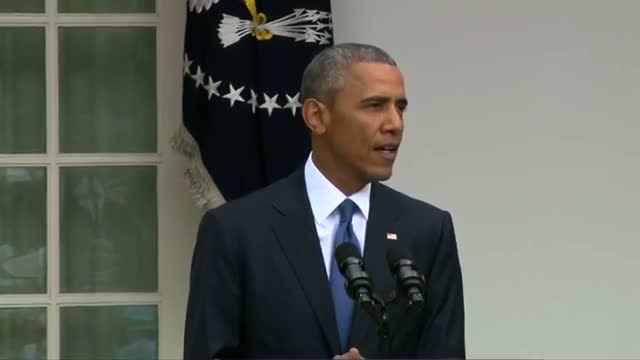 Obama hails Supreme Court's gay Marriage Ruling - VIDEO