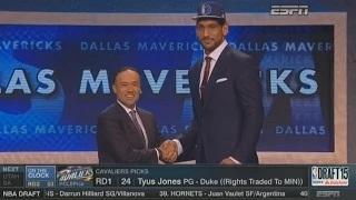 2015 NBA Draft: 52nd Pick - Satnam Singh - Dallas Mavericks