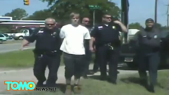 Video of Church shooter Dylann Roof's arrest released by Shelby police dep't
