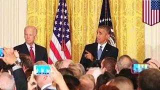 Obama heckled at LGBT Pride event at the White House; hits back with classy reply